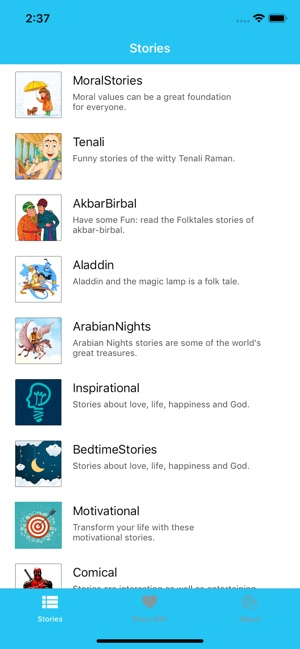 E-Stories on the App Store