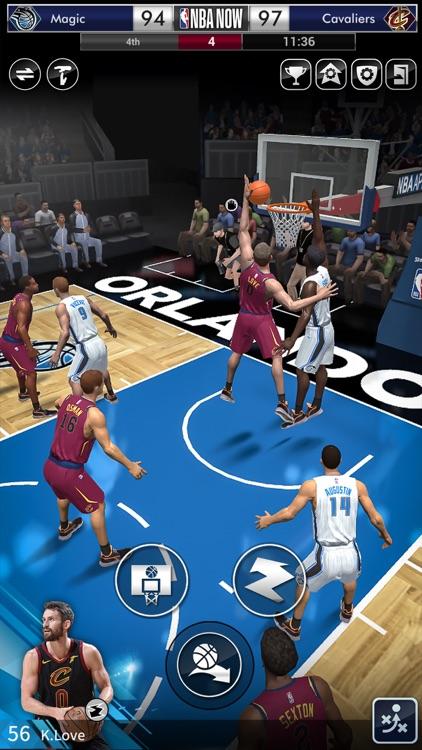 NBA NOW Mobile Basketball Game screenshot-4