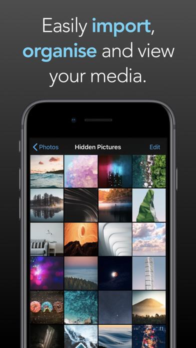 Screenshot #2 pour Picture Safe - Hidden Photos