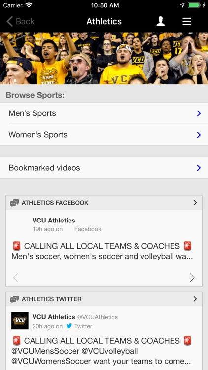 VCU Mobile screenshot-3