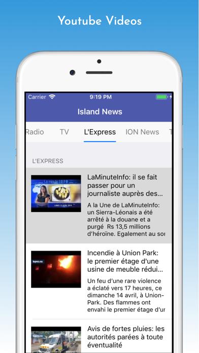 Island News - Mauritius screenshot two