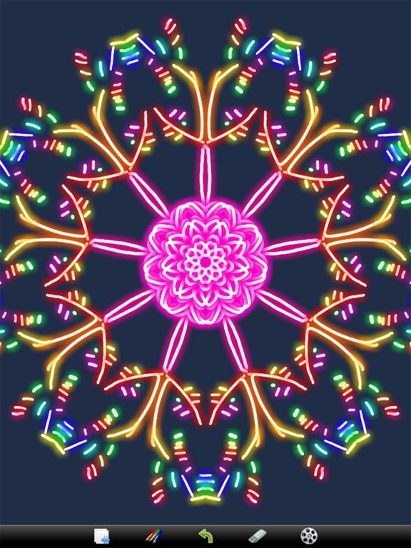 Kaleidoscope Drawing Pad screenshot