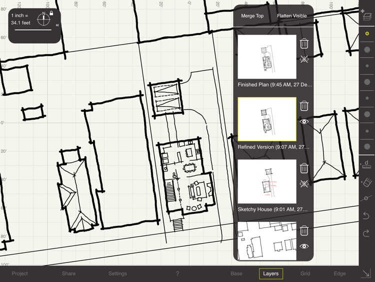 Arrette Scale sketch drafting screenshot-4