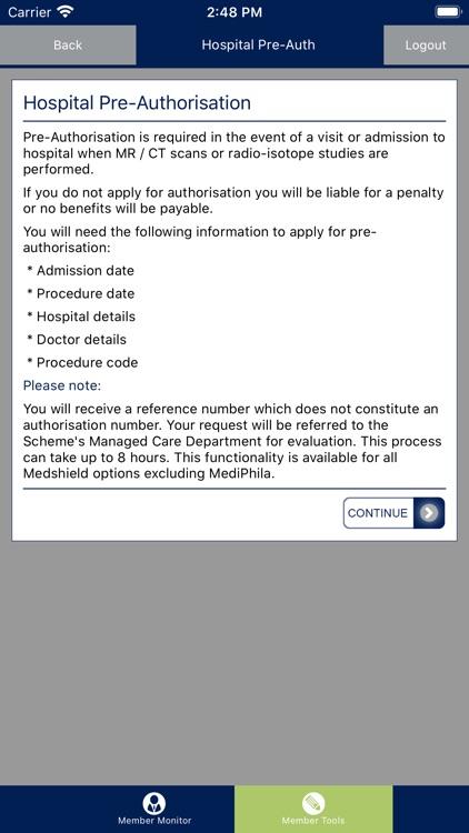 Medshield Member App screenshot-3