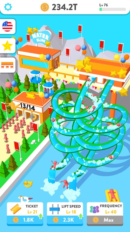 Idle Water Slide screenshot-3
