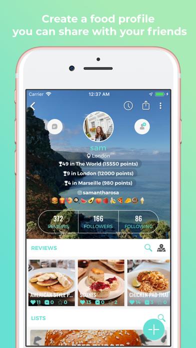 Eaten - The Food Rating AppScreenshot of 6