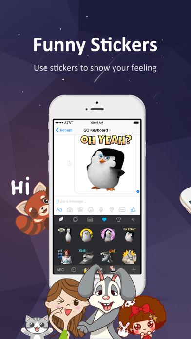GO Keyboard-Emojis&Cool Themesのおすすめ画像6