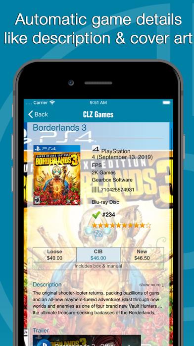 Screenshot #2 pour CLZ Games - Game Database