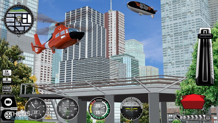 Helicopter Simulator 2017 screenshot-2