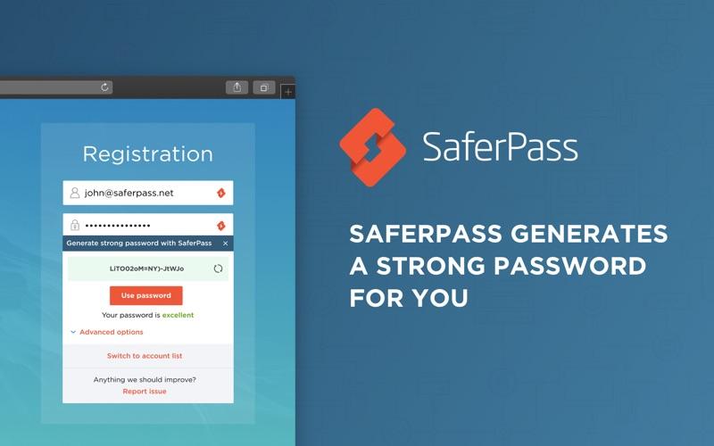 SaferPass скриншот программы 2