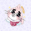 Cute Bunny Stickers pack