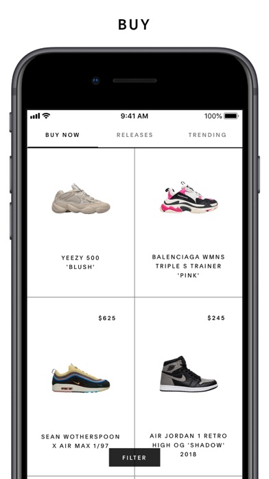 6bc40e27e02ae5 GOAT – Shop Sneakers - Revenue   Download estimates - Apple App ...