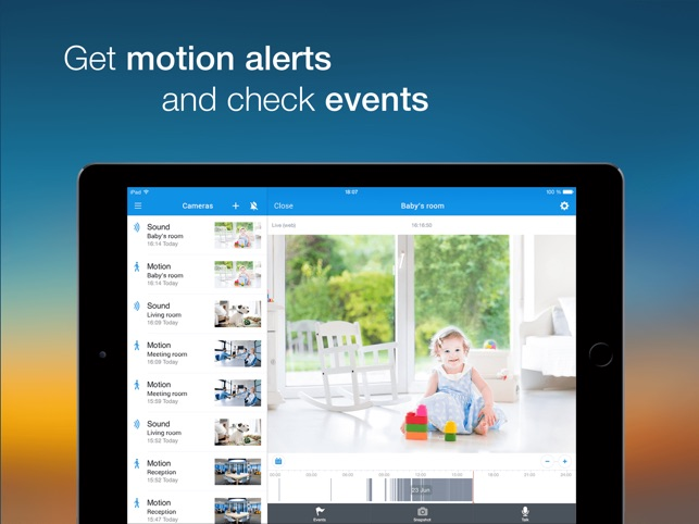 Video Surveillance Ivideon on the App Store