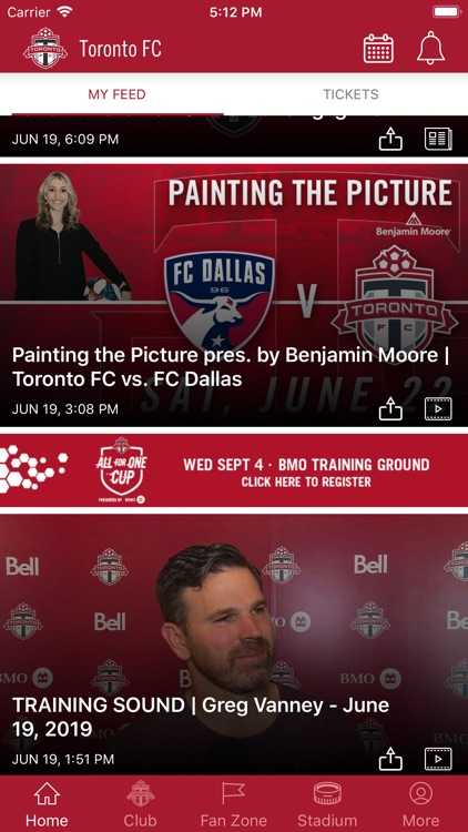 Toronto FC Mobile screenshot-4