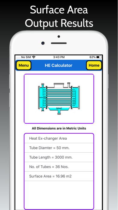 Heat Exchanger Area Pro screenshot 6