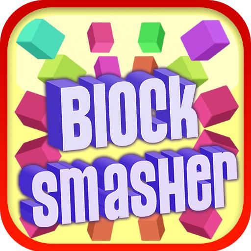 Block Smasher - 3D Arcade Action Reaction Brick Breaker Game