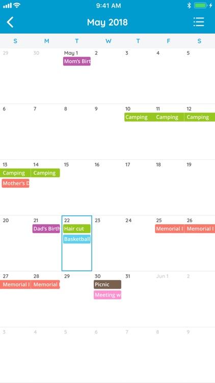 Family Organizer - Calendar