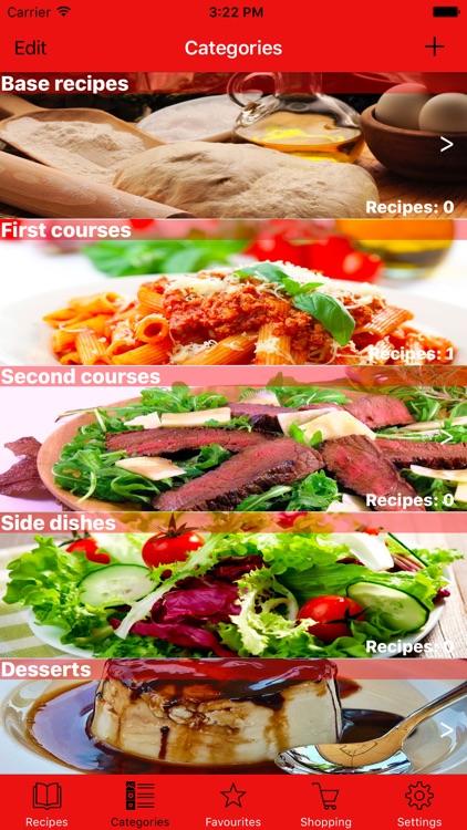 My Recipes +