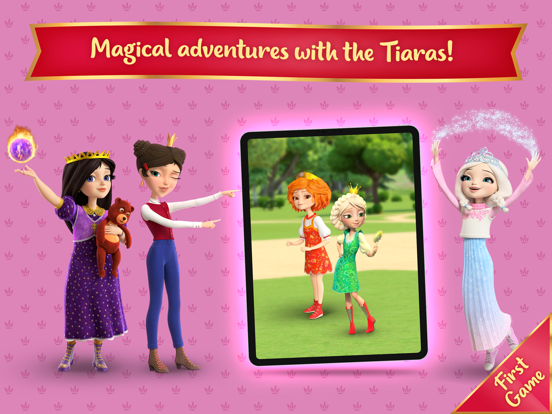 Ipad Screen Shot Little Tiaras: Magical Tales! 0