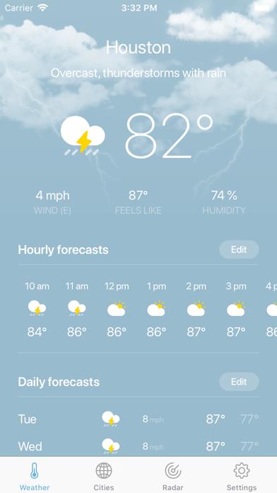 Weather · screenshot 9