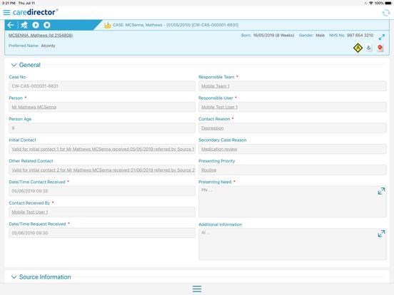 CareDirector screenshot #3