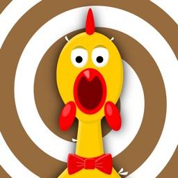 Screaming chicken weird sound