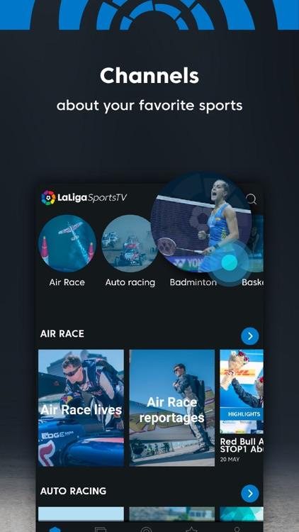 LaLiga Sports TV - Live Soccer screenshot-4