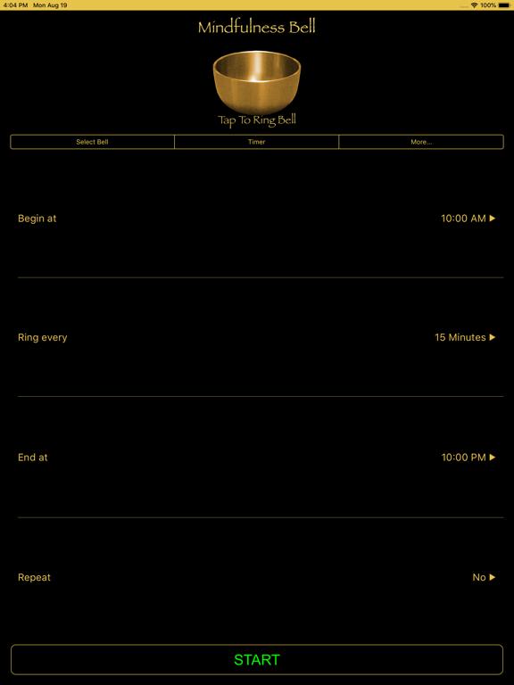 Screenshot #5 pour Mindfulness Bell