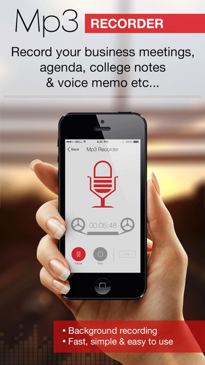 Mp3 Recorder : Voice Recorder
