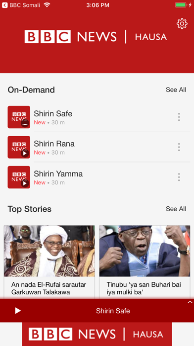 Related Apps: BBC News Hausa - by Zeno Media LLC - News