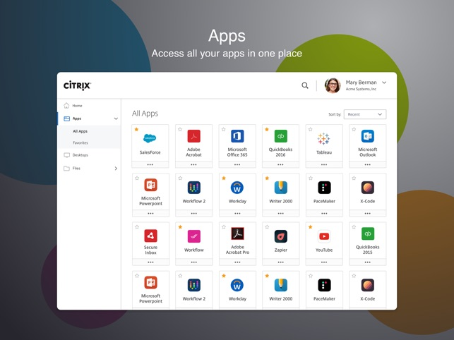 citrix workspace app