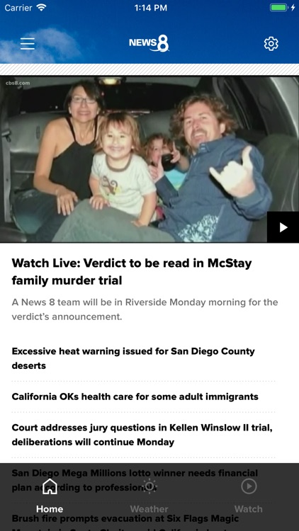 San Diego News from News 8 by Tegna Inc