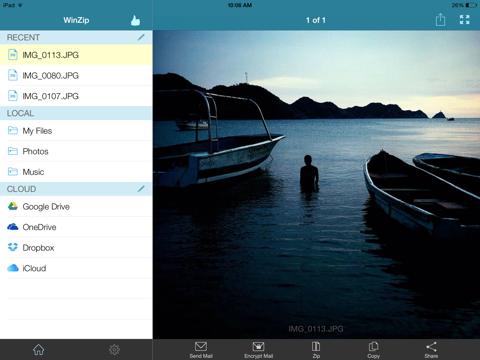 WinZip: #1 zip & unzip tool - náhled