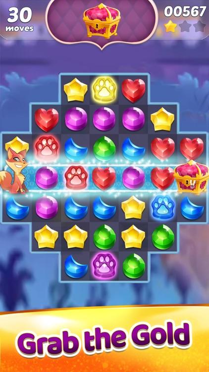 Genies & Gems: Puzzle & Quests screenshot-0