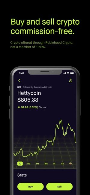 how to buy cryptocurrency in robinhood