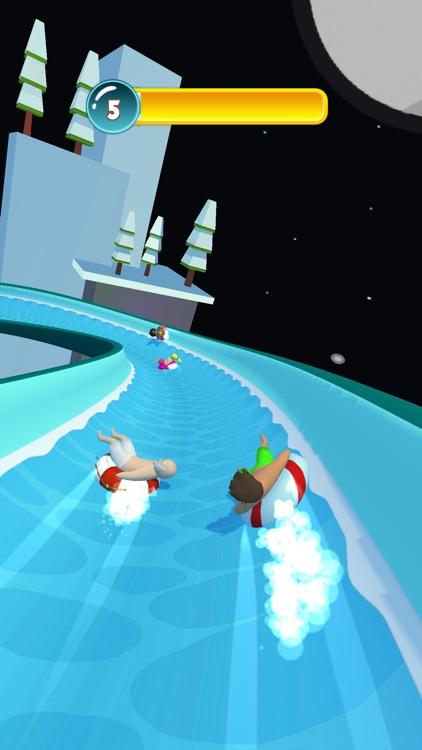 Water Park Slide Racing