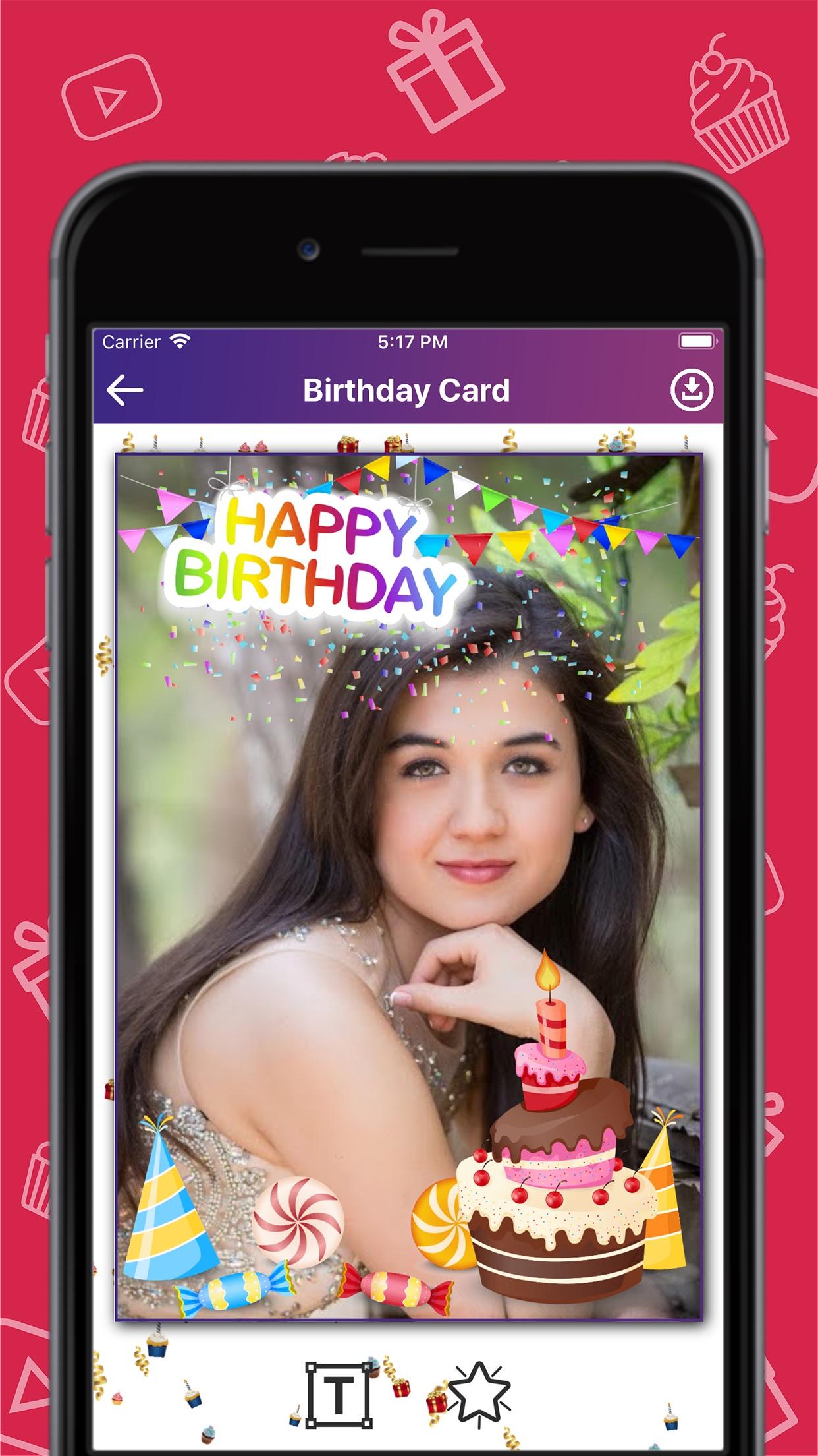 Birthday Wishes Creator Screenshot