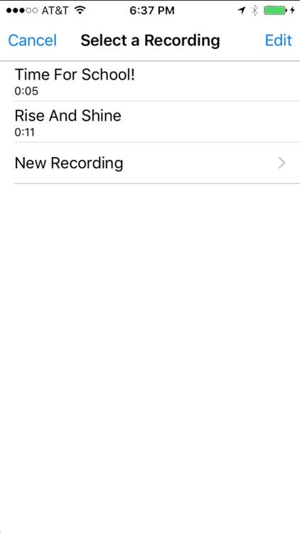 My Voice Alarm screenshot-3