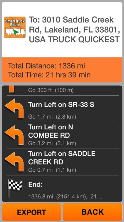 SmartTruckRoute: Truck GPS screenshot-4