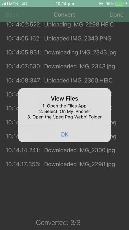 Jpeg Png Webp Converter screenshot-4