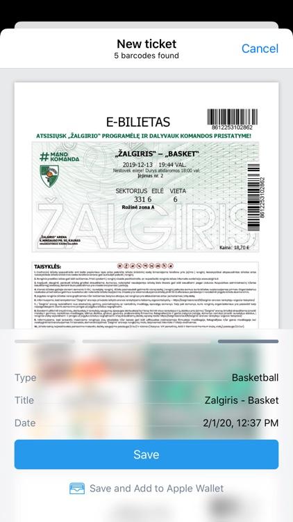Ticket Holder screenshot-4