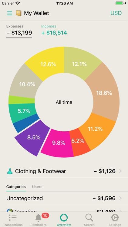 CashSync+PRO: Expense tracking screenshot-8
