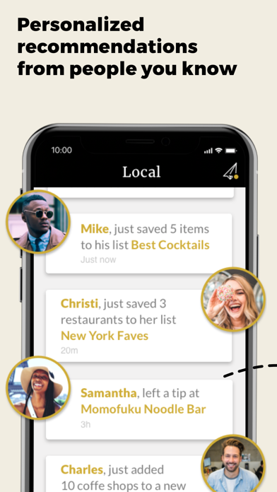 Local: Restaurant Lists & RecsScreenshot of 2
