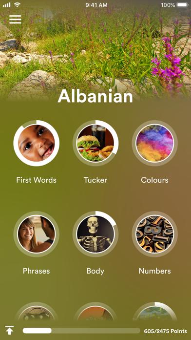 Learn Albanian - EuroTalk screenshot one