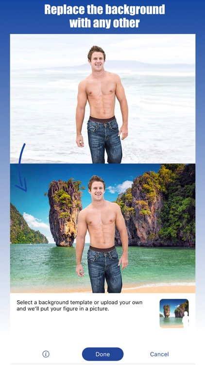 Retouch Men: Abs & Body Editor screenshot-5