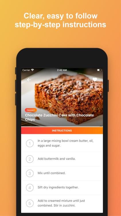 CookAid - Recipes & Nutrition screenshot-3