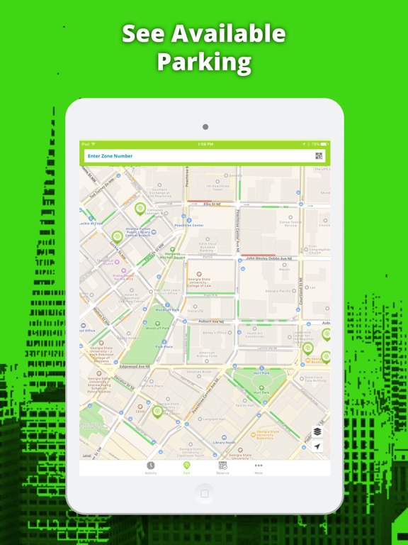 Parkmobile - Paid parking made easy with free mobile app screenshot