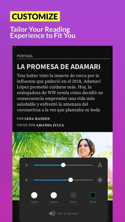 People en Español Revista screenshot-4