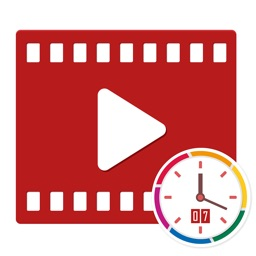 Auto timestamp & text to video
