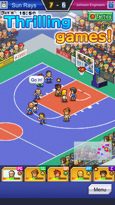 Screen Shot Basketball Club Story 2